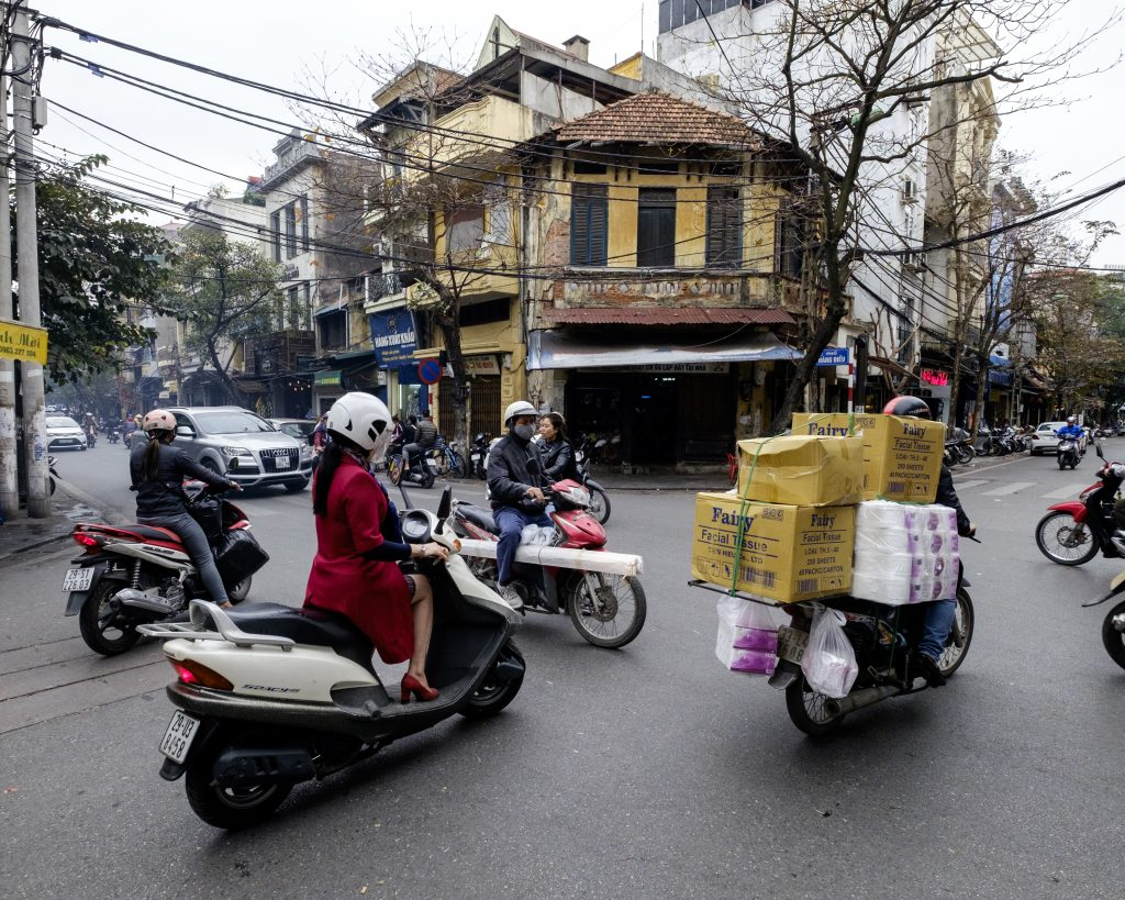 Oh Hanoi traffic how i missed you
